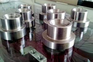 machined forklift shaft roller