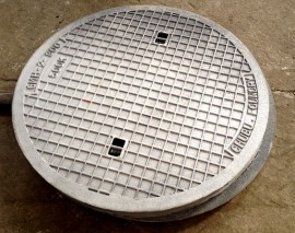 sewer covers made of grey cast iron